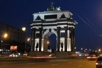The Moscow Triumphant Arch