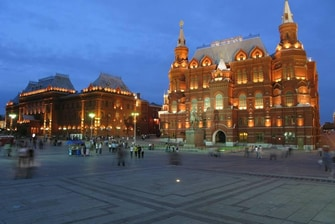 Moscow Historical Museum, downtown Moscow