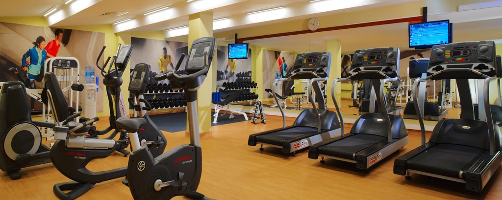 Fitnessstudio in Hotels in Moskau