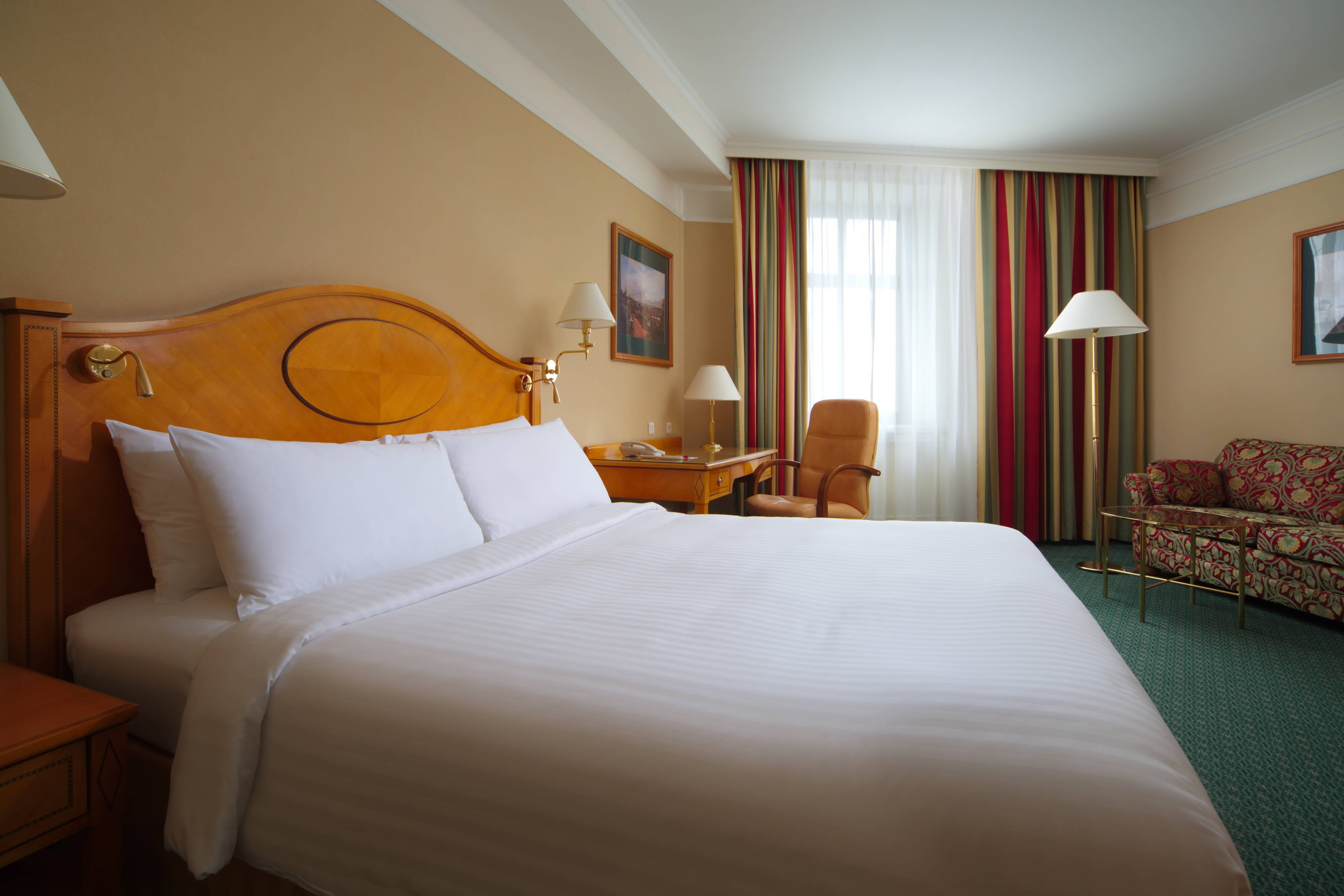 Улучшенный номер – спальная зона