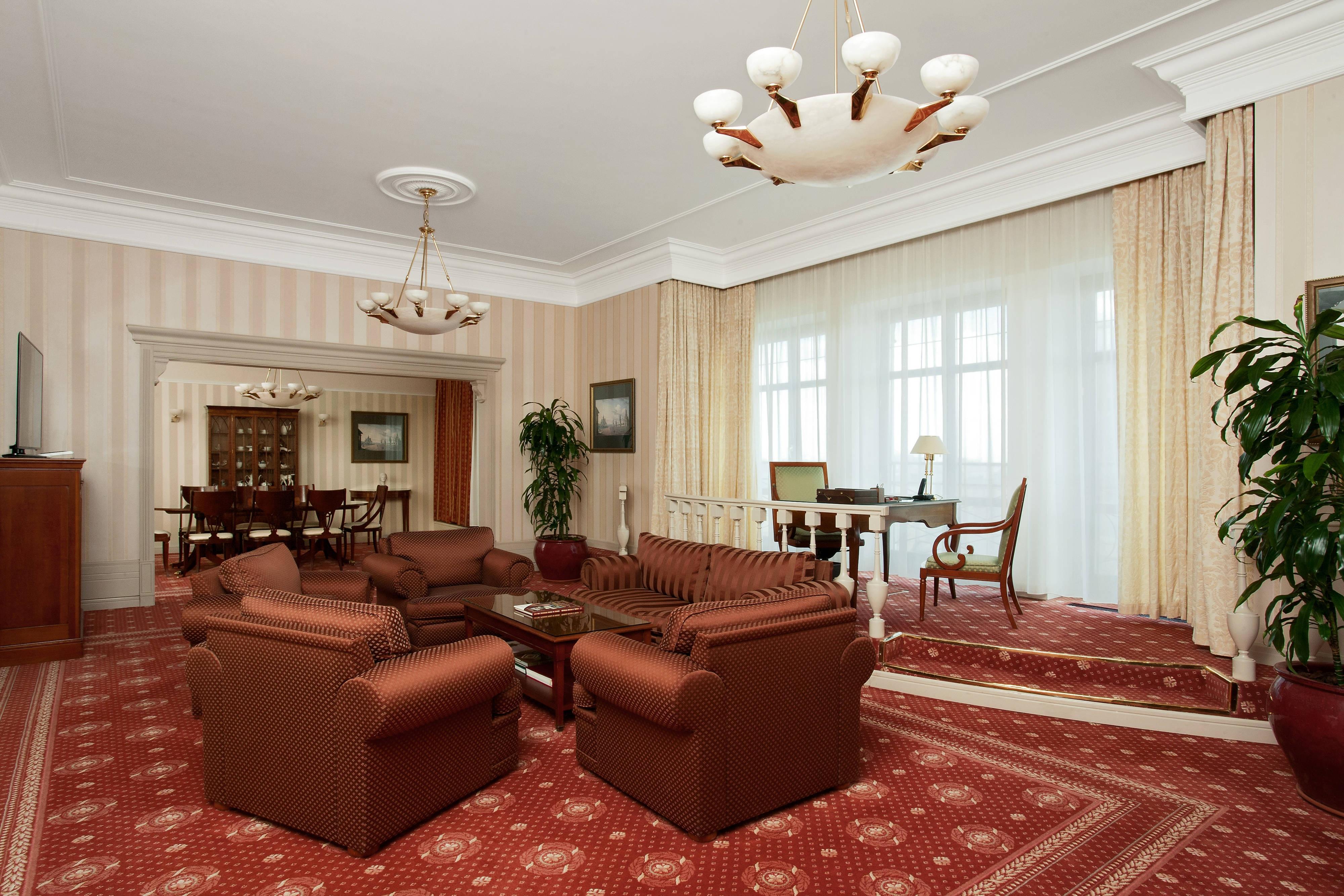Президентский люкс– жилая зона
