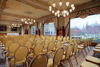 Зал Московский - встреча в театральном стиле