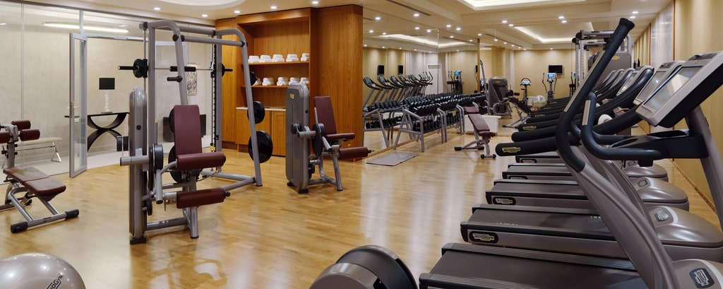 Moscow hotel fitness facilities