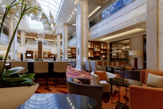 Lobby des Moscow Marriott Hotels