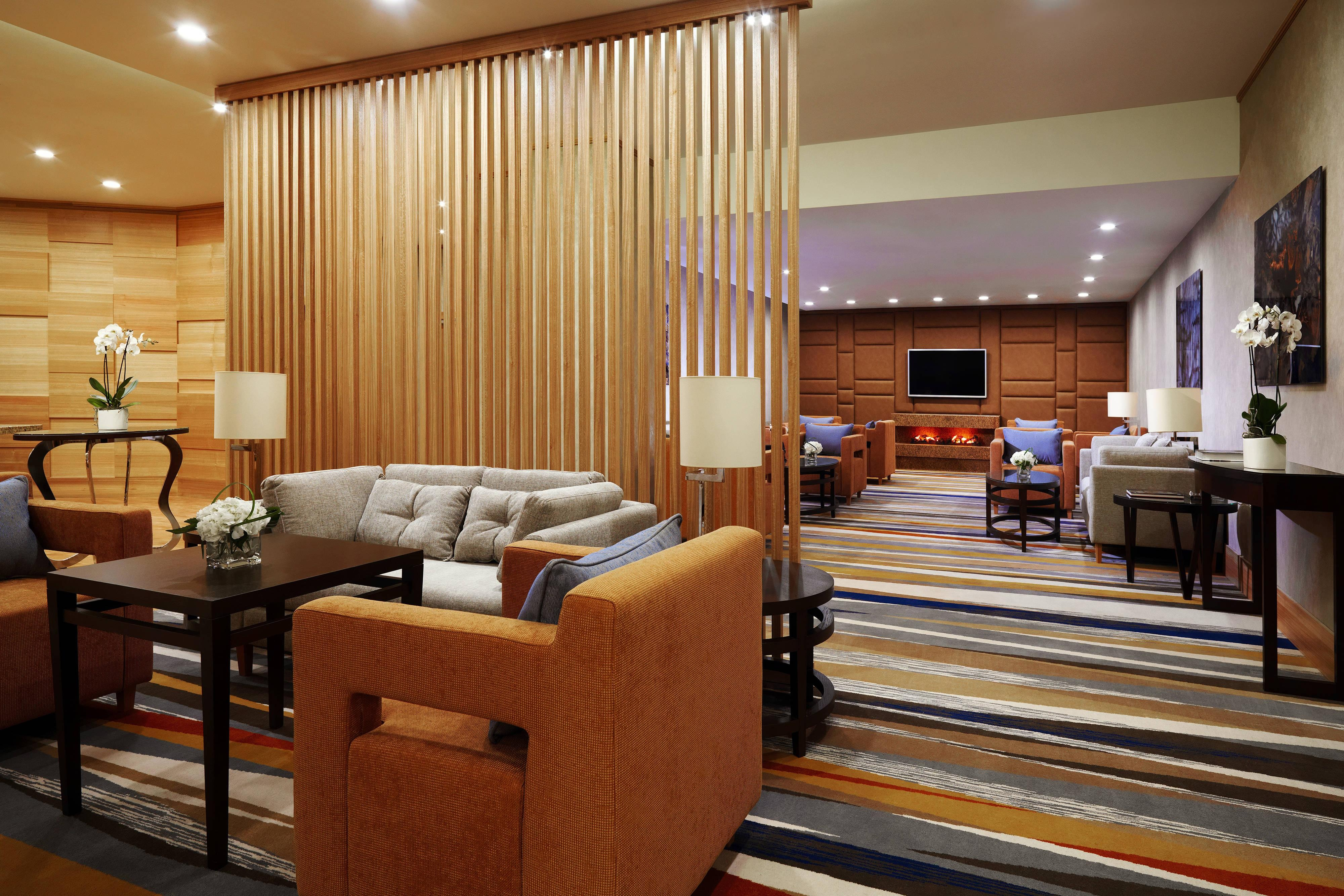 Moscow Marriott Grand Hotel lounge ejecutivo