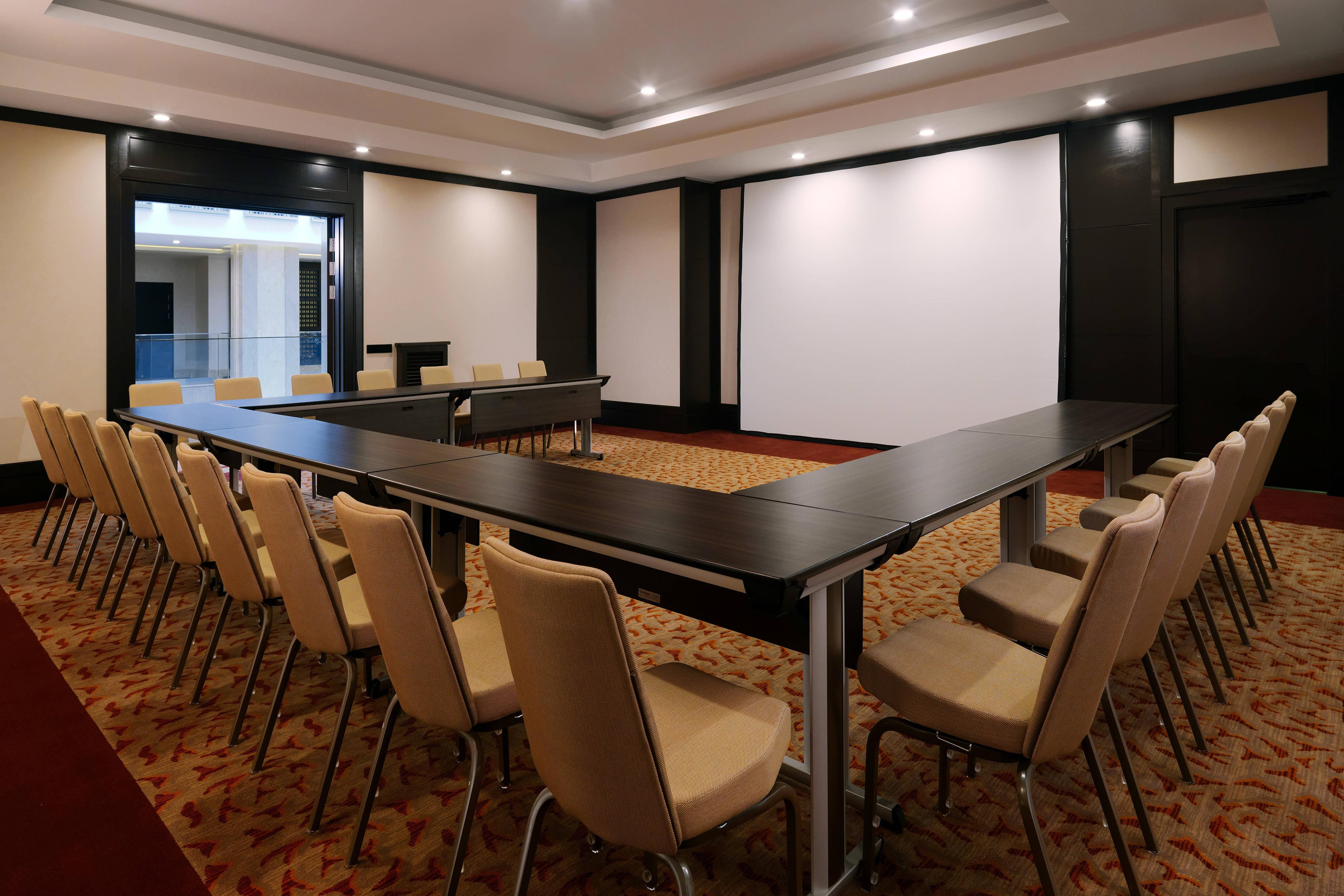 Moscow hotel meetings