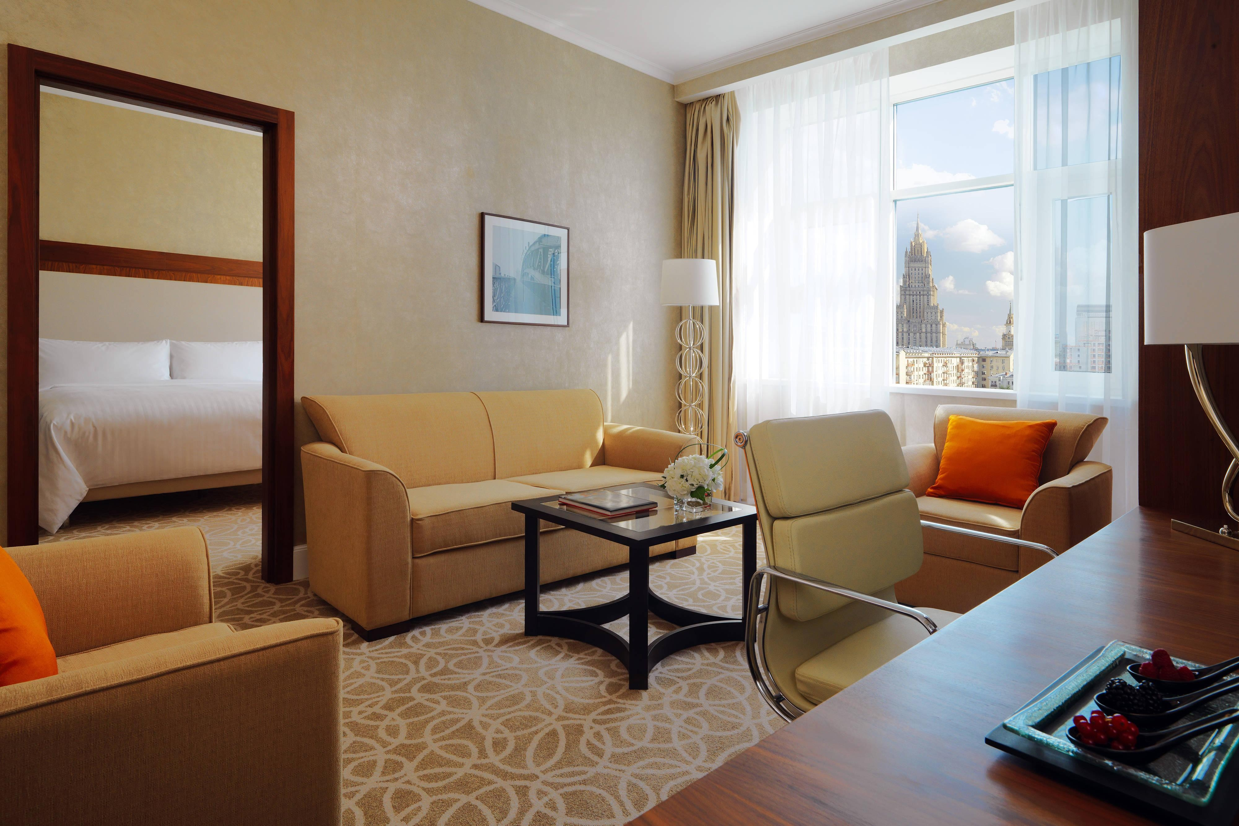 Moscow Marriott Grand Hotel suites