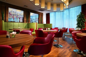 Hotel bar in Moscow
