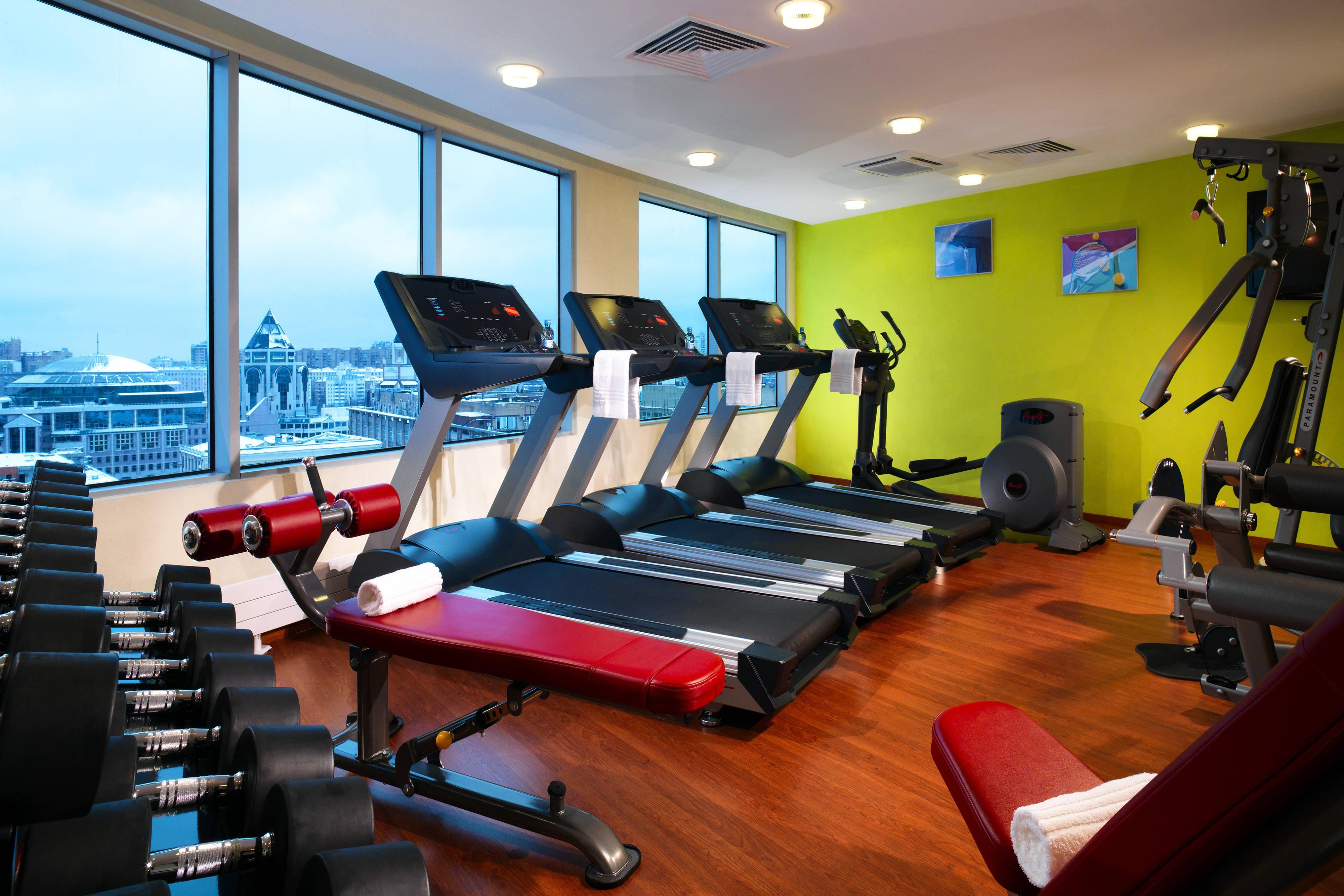 Moscow hotel fitness center