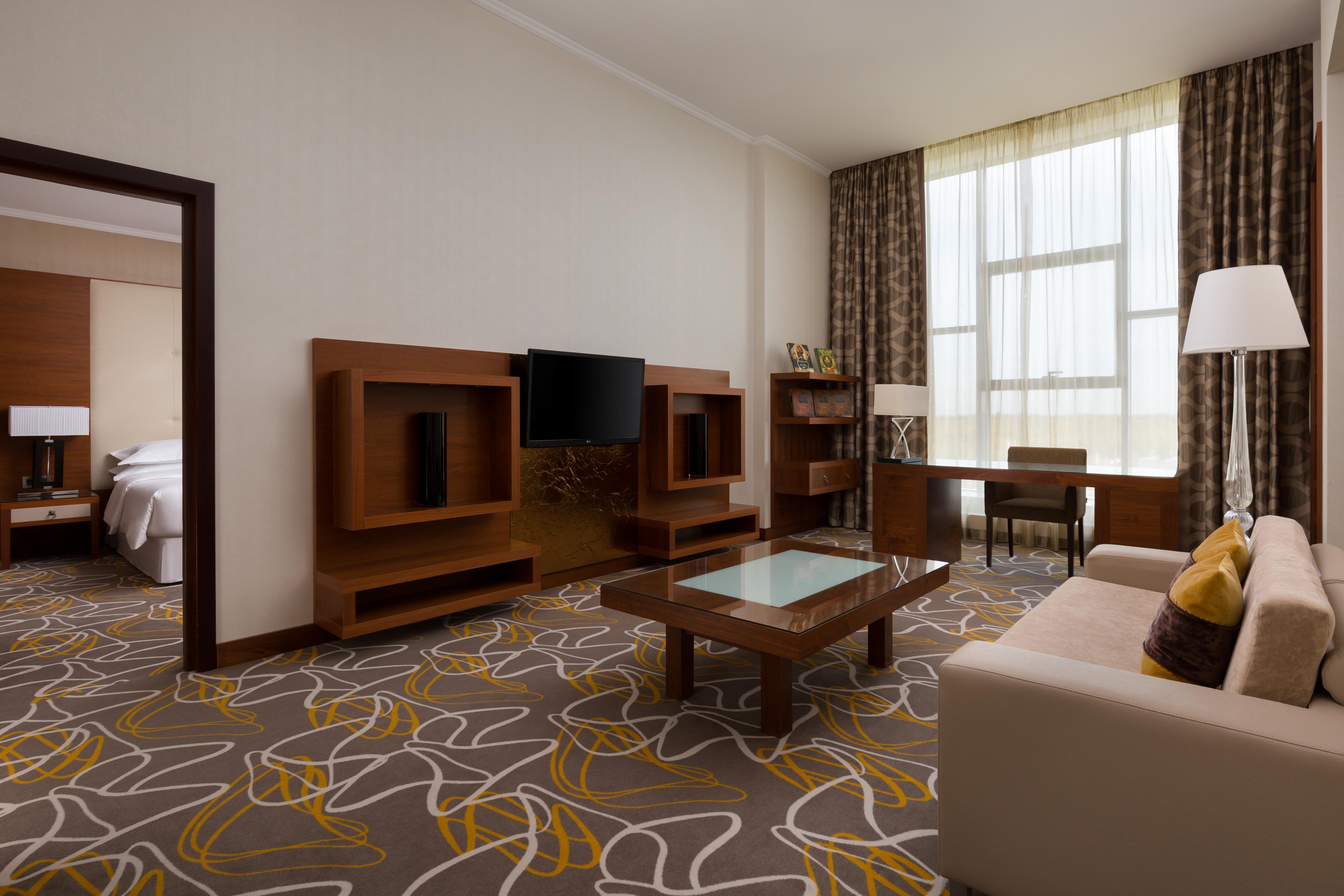Präsidenten-Suite – Arbeitsbereich