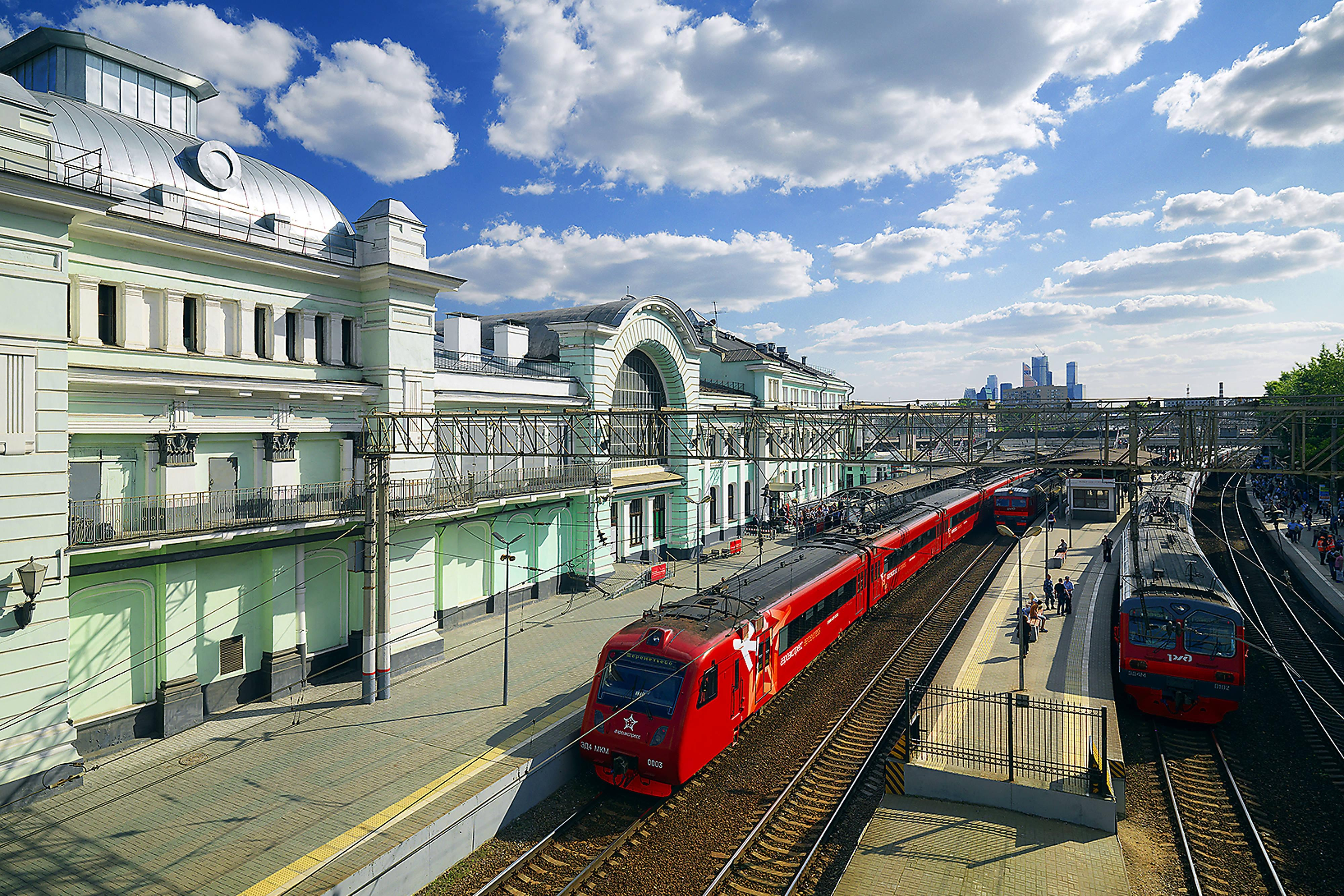 Destination Belorussky Railway Station