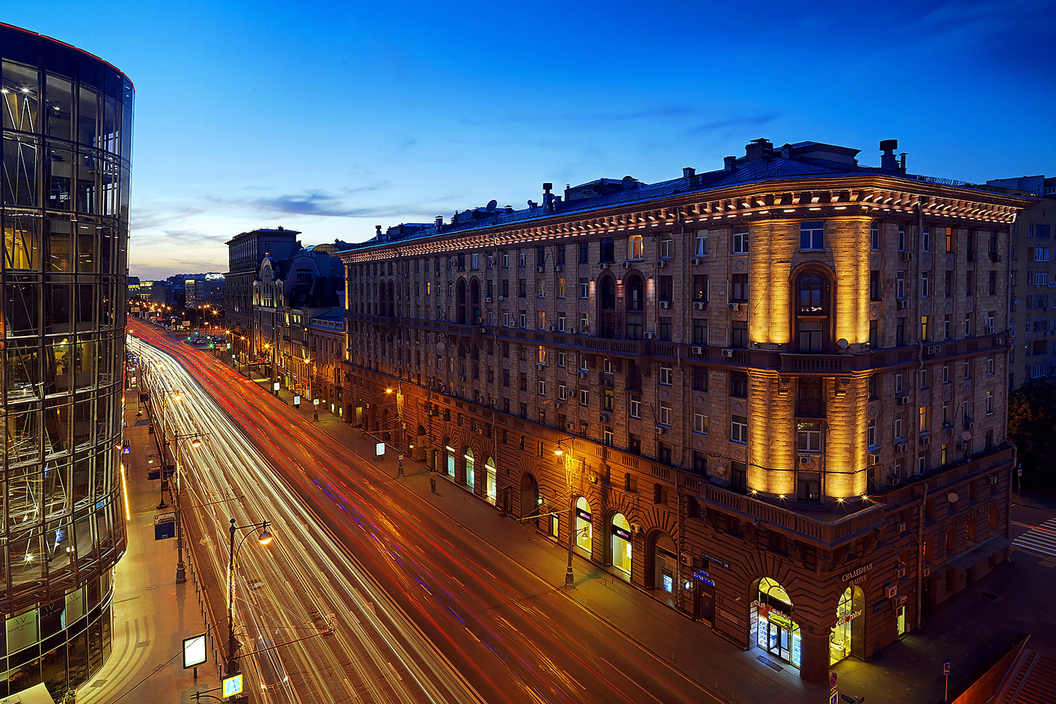 View from property. 1st Tverskaya-Yamskaya Street