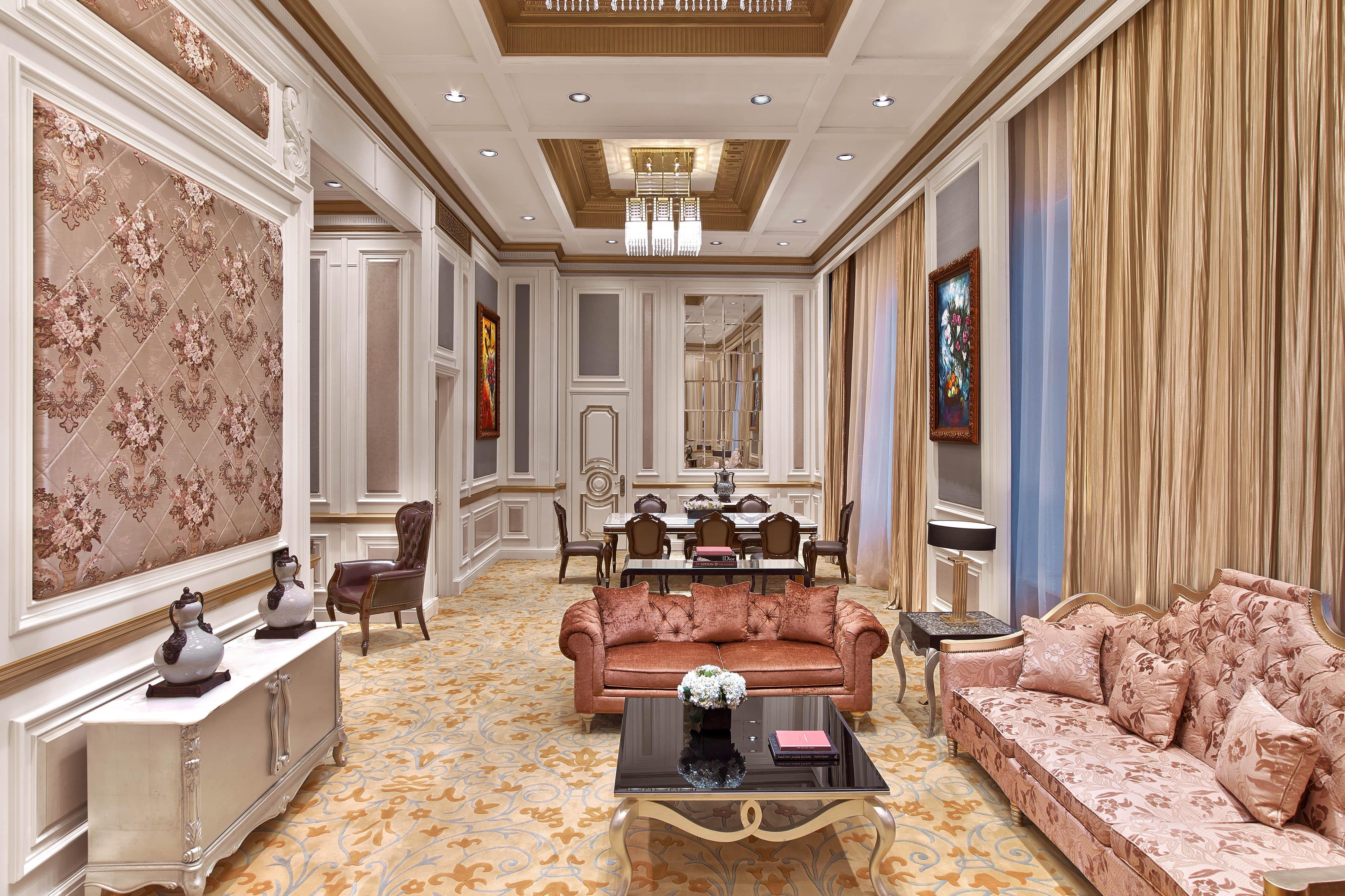 Suite royale - Salle de séjour