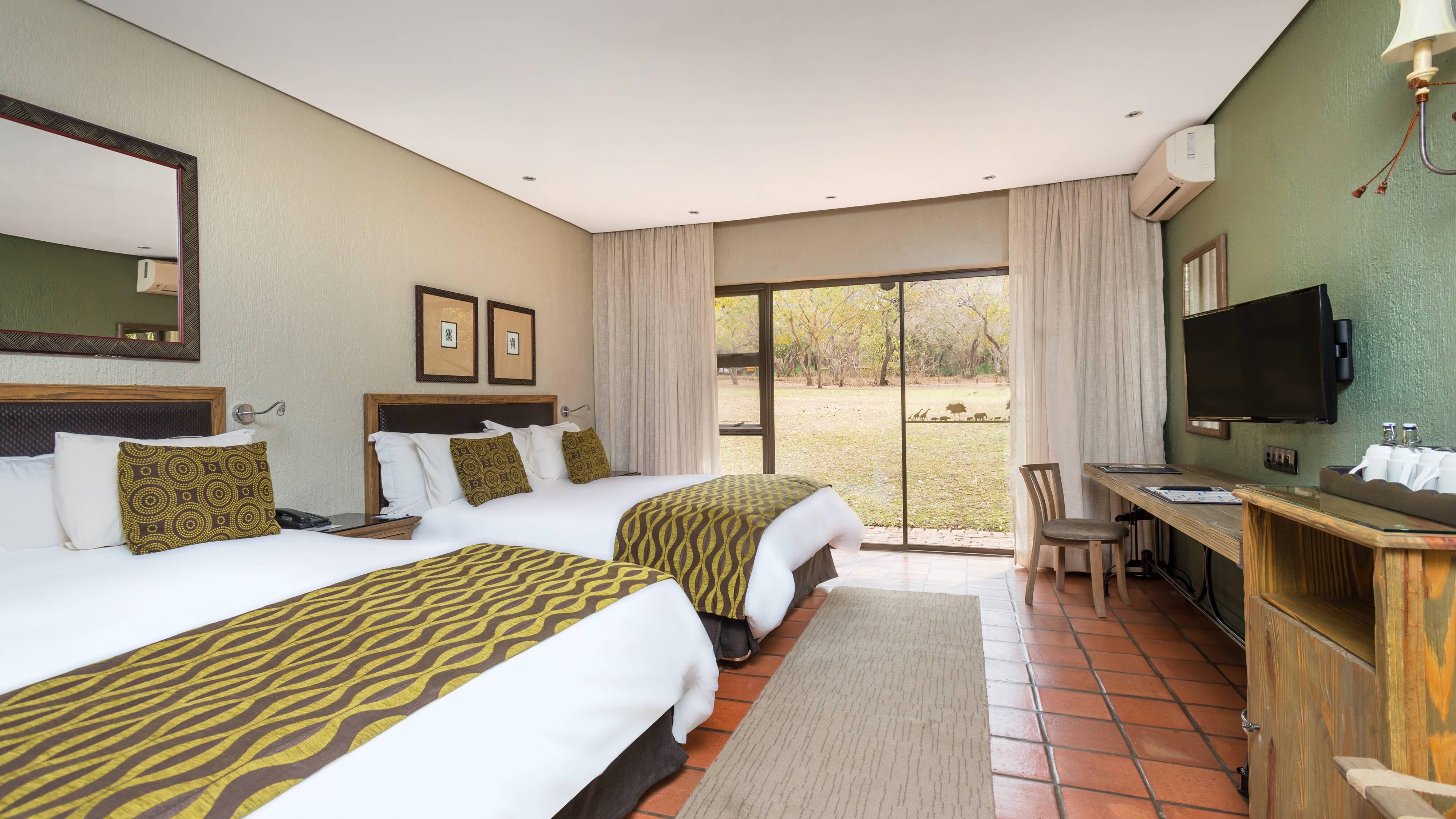 Superior-Gästezimmer mit zwei Queensize-Betten