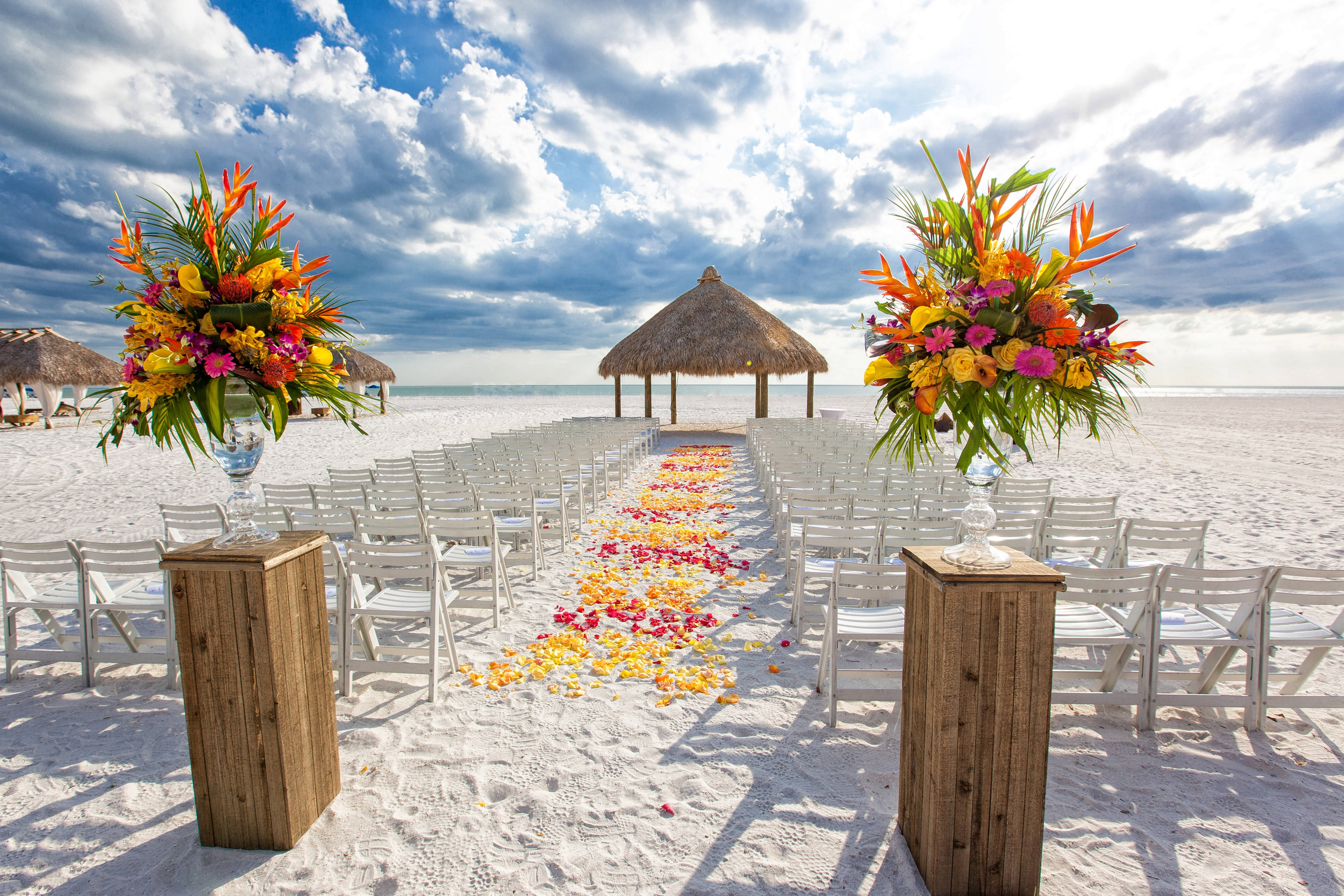 Marco Island Beach Wedding Venue