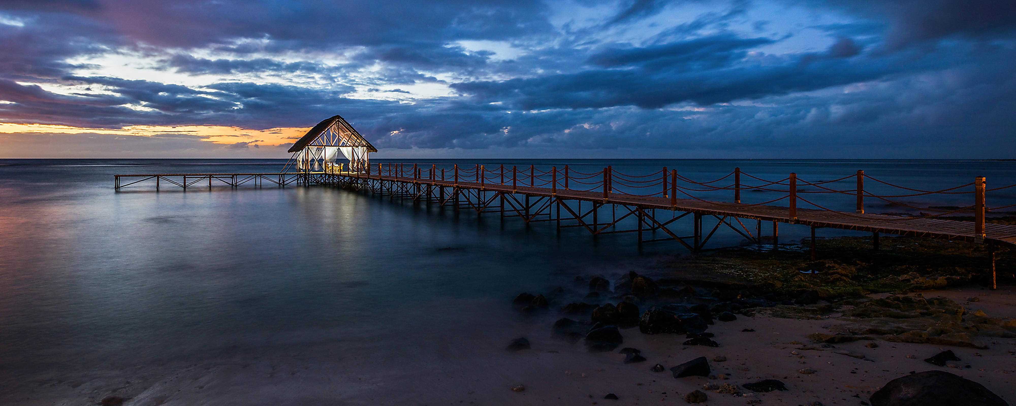 Sunset Jetty View