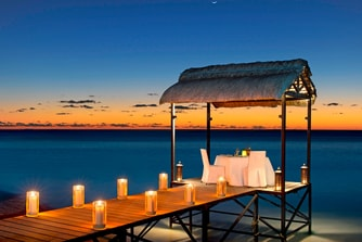 Private Dining on the Jetty