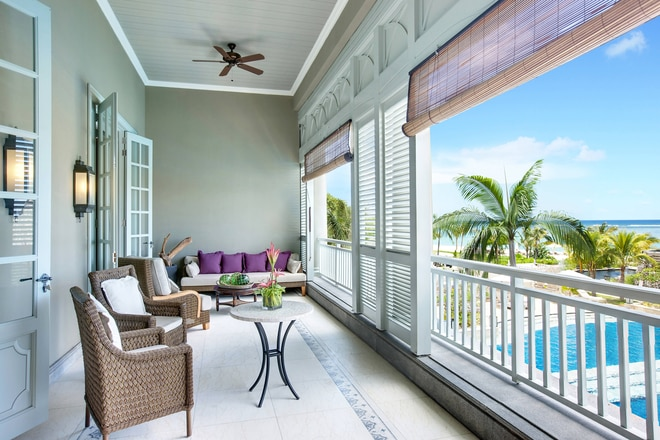 Manor House Suite - Terrace with View on the Ocean