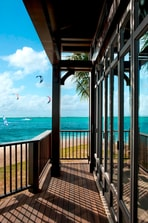The St. Regis Villa Terrace with View on One Eye Kite Surf Spot
