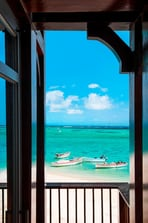 The St. Regis Villa Terrace with View on the Lagoon