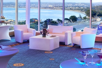 Ferrantes Bay View Lounge Area