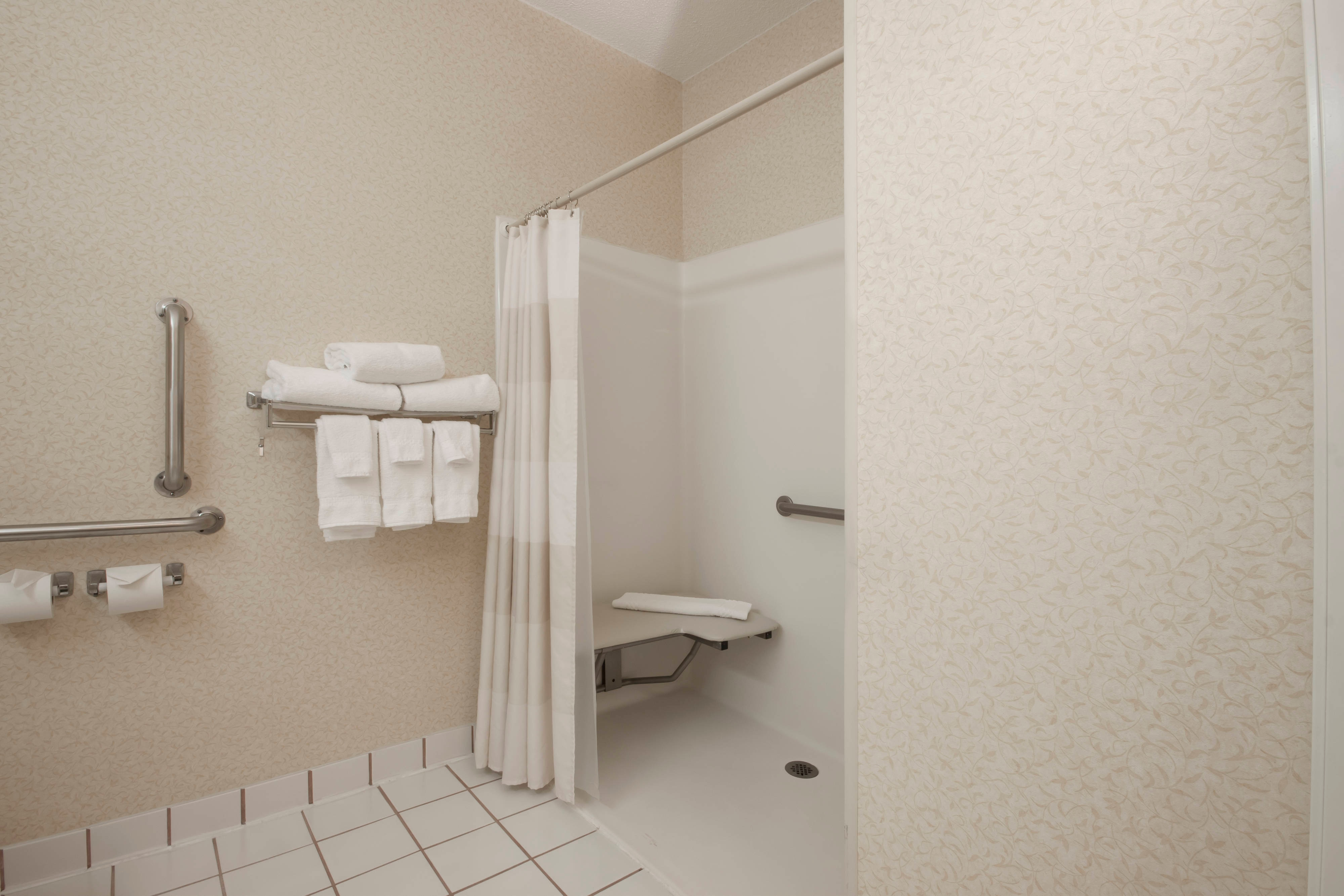 Coon Rapids Hotel Accessible Shower