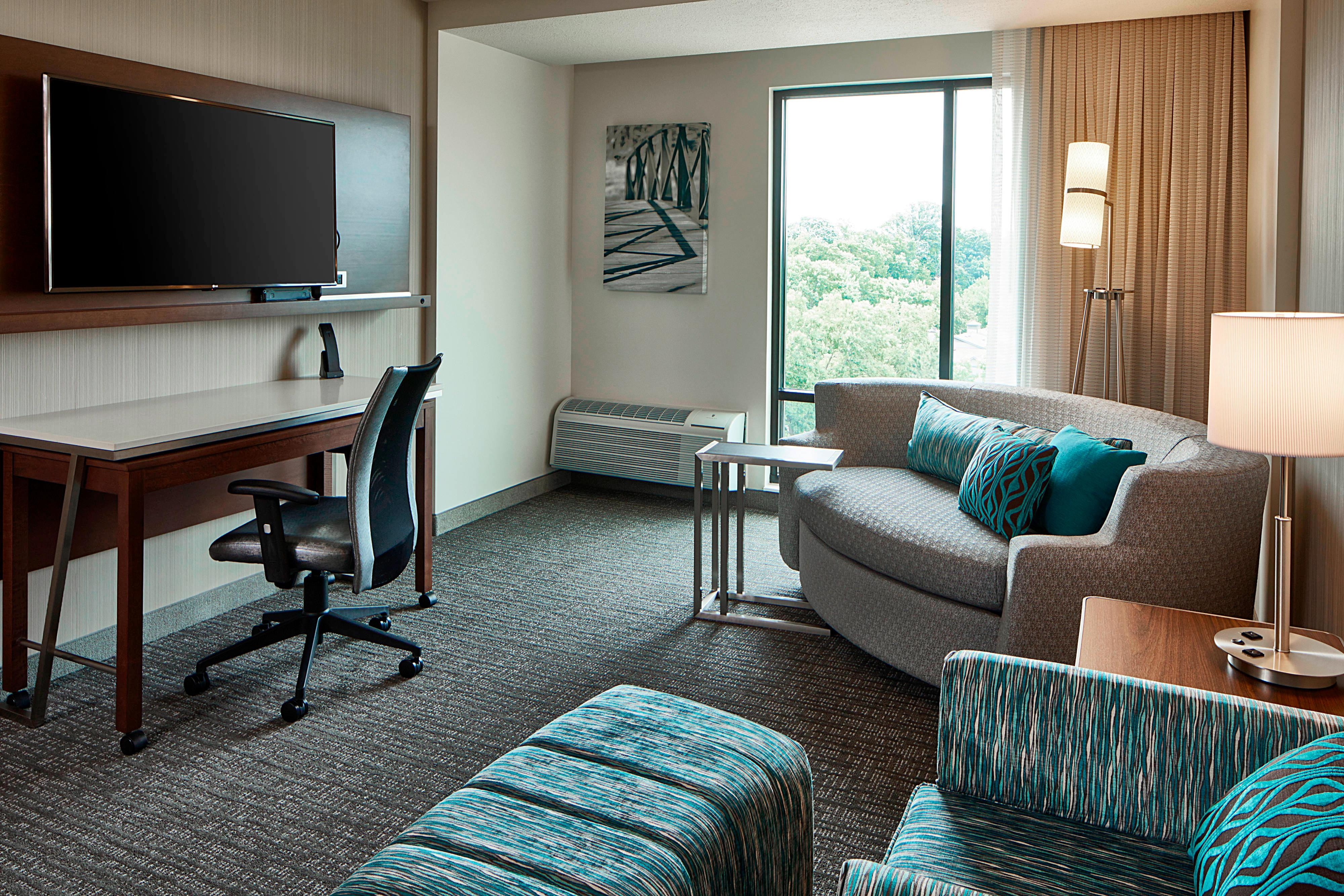 King Suite - Seating Area