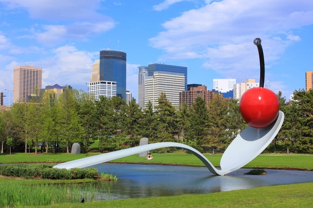 Spoonbridge & Cherry, Minneapolis Sculpture Garden