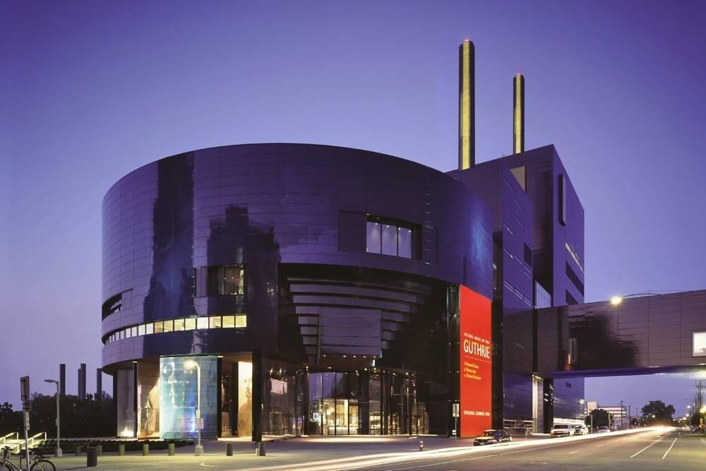Guthrie Theater in downtown Minneapolis