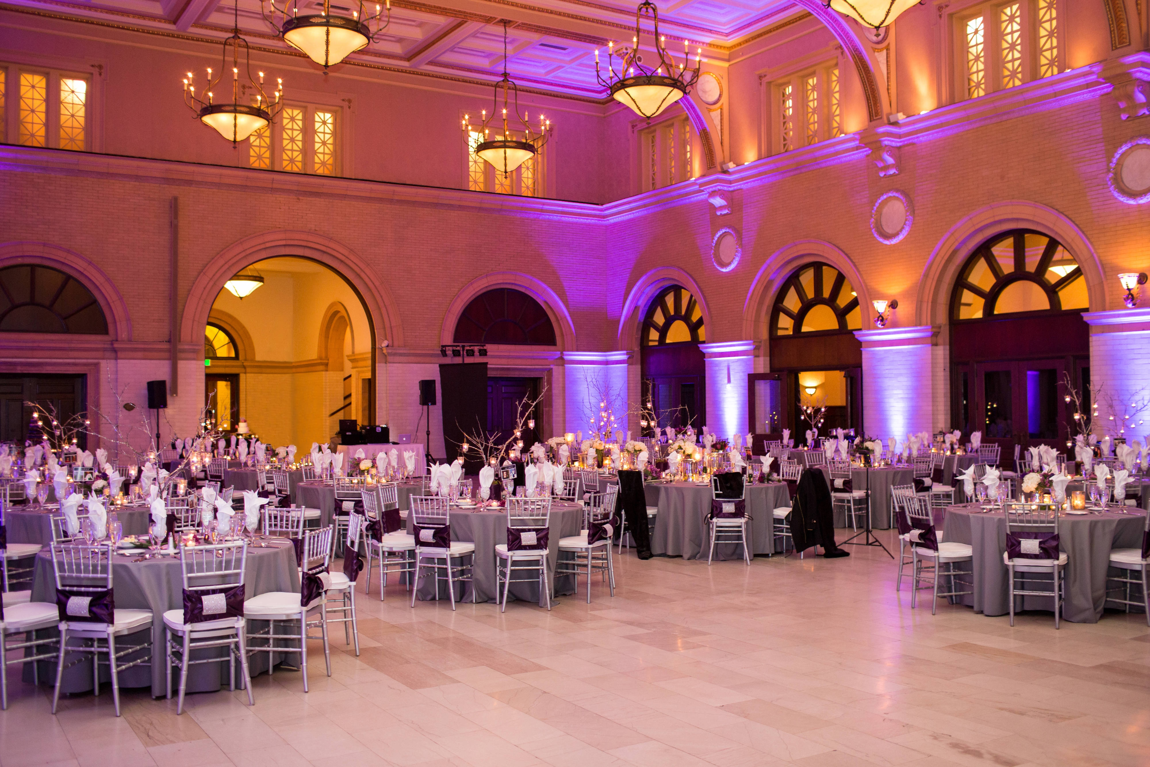 Minneapolis hotel wedding reception