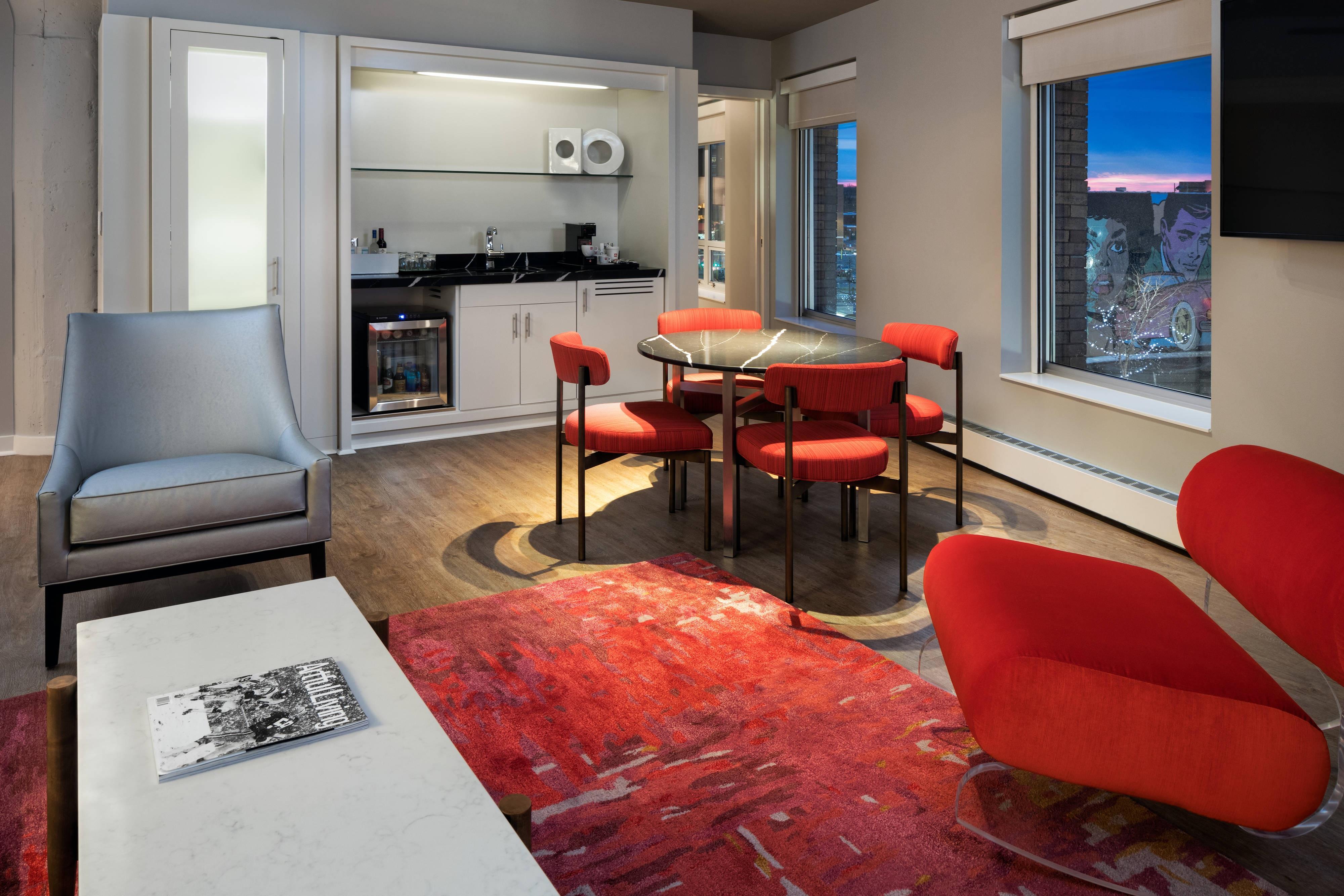 Executive Suite– Wohnzimmer