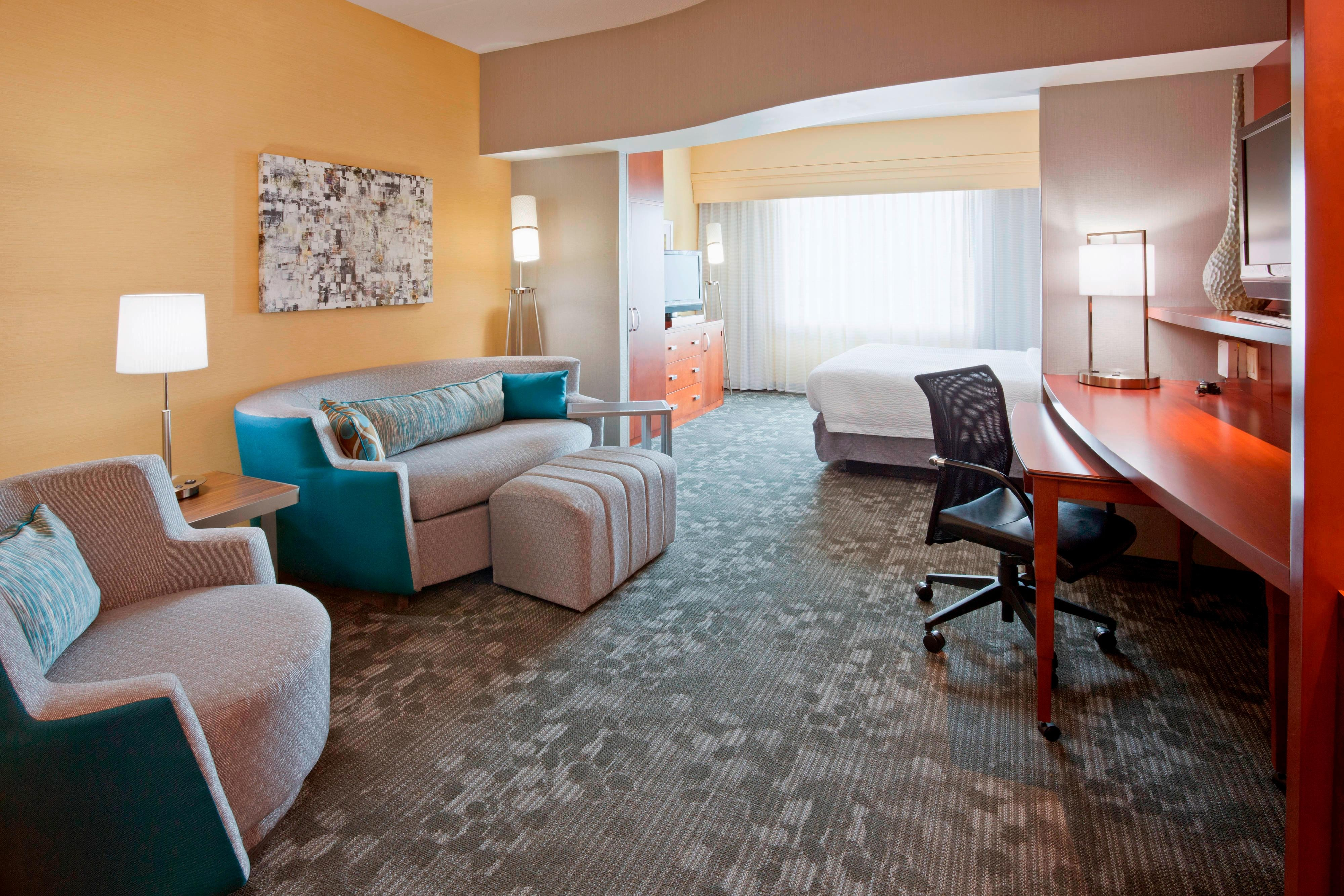 Executive Room at Maple Grove, MN Marriott Hotel