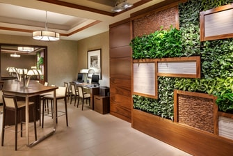 Living Wall in Business Center