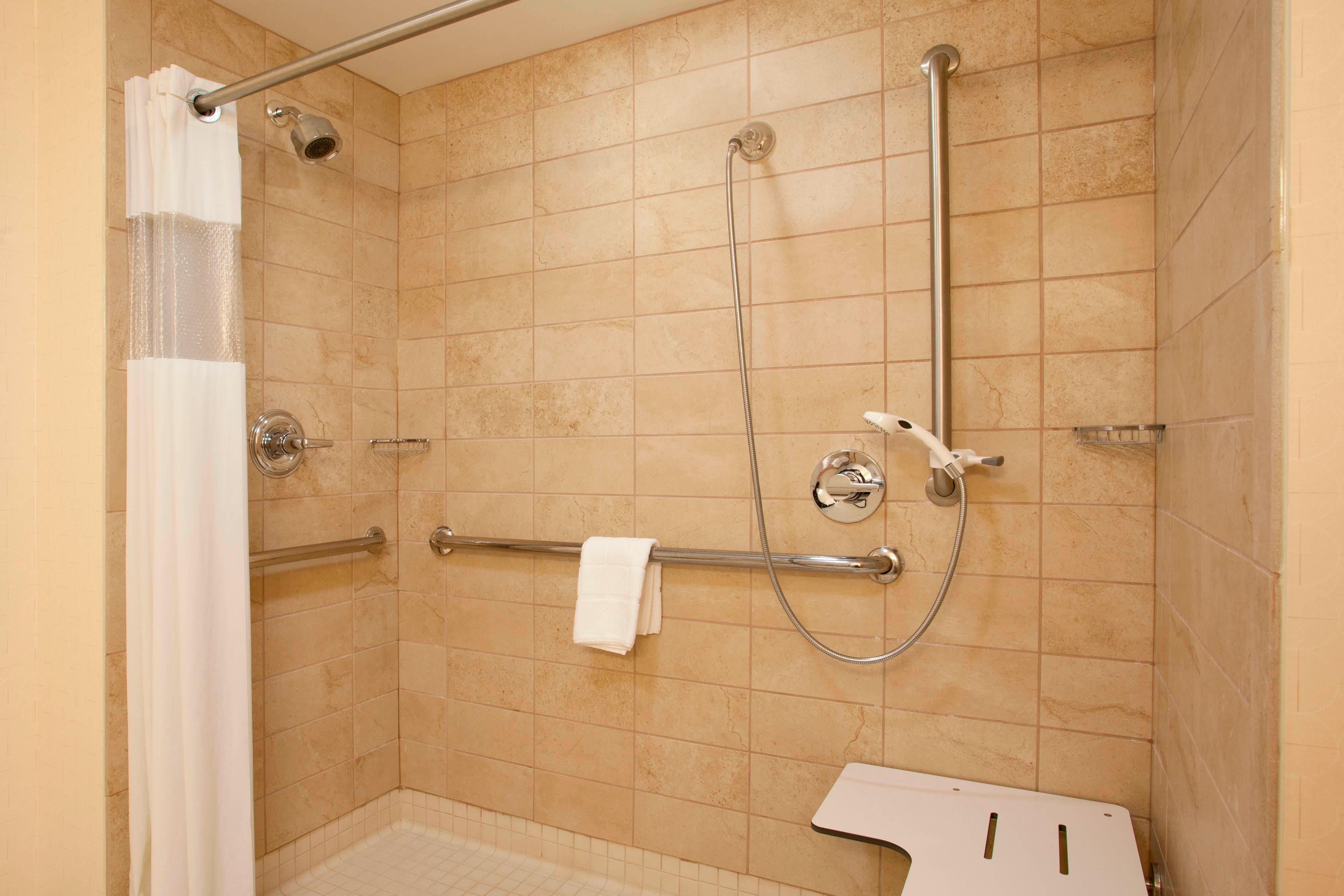 Accessible Bathroom – Roll-In Shower