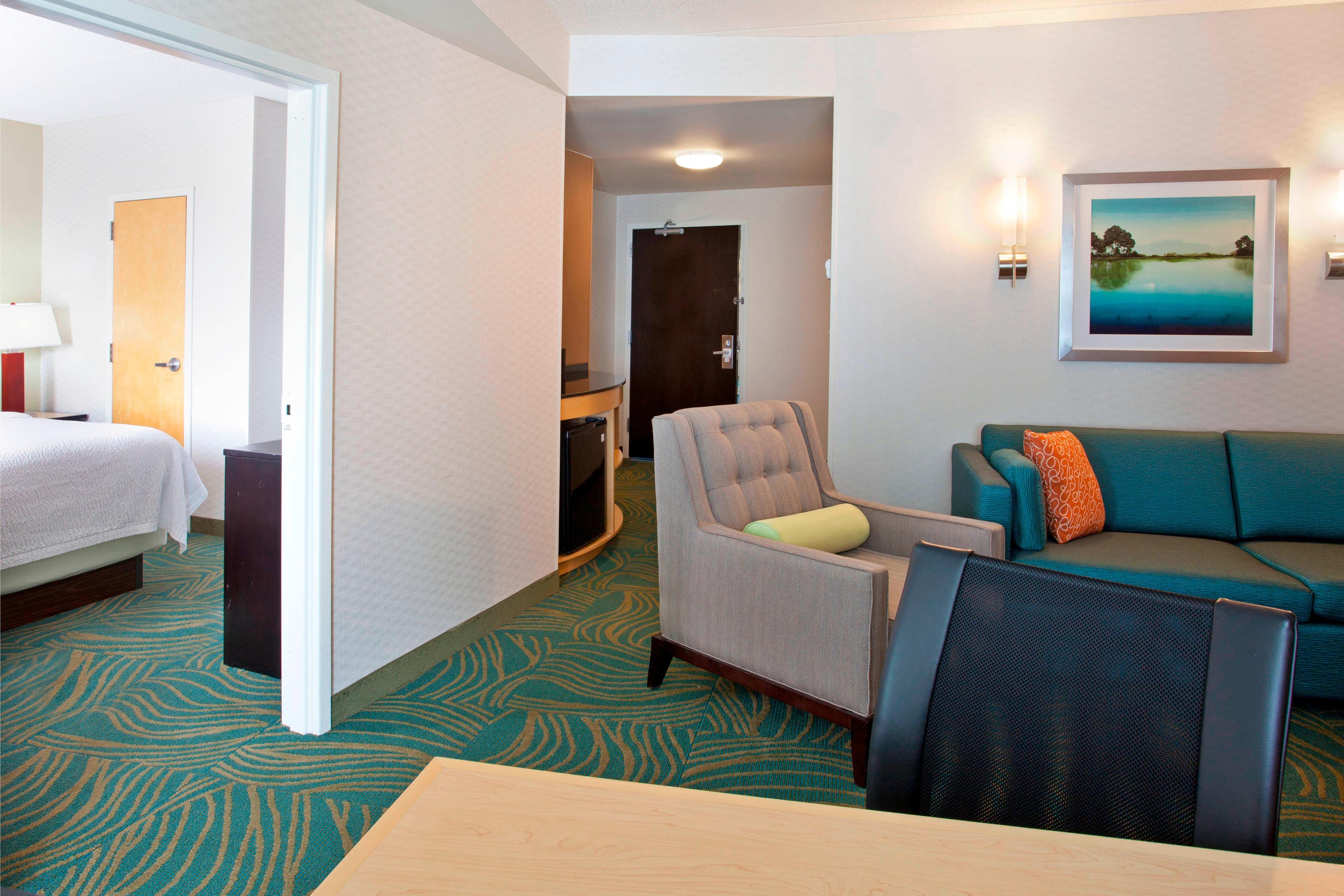 Suite à une chambre avec deux très grands lits