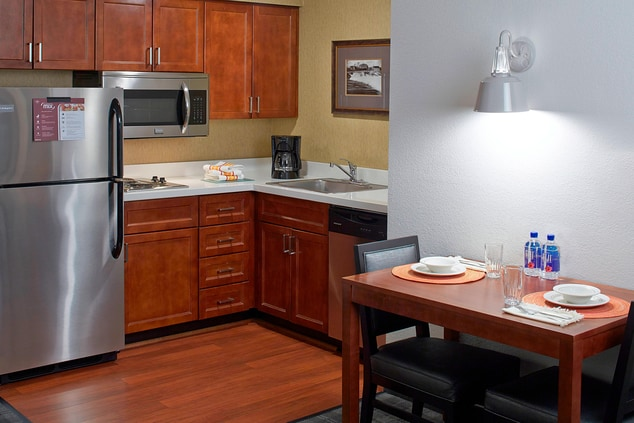 Studio Kitchen & Dining Area