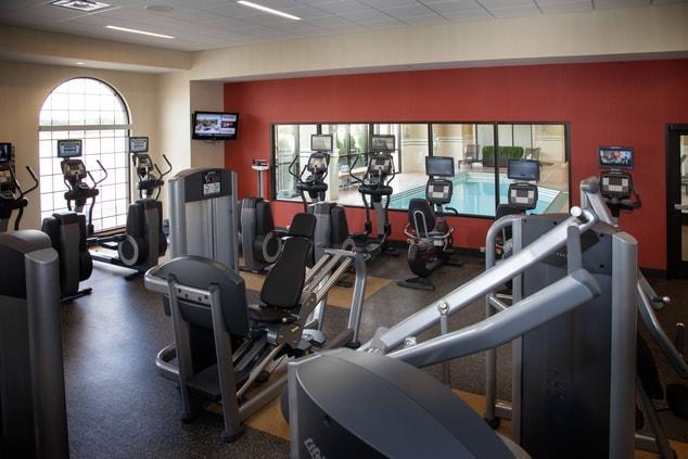 Minneapolis Marriott Northwest Fitness Center