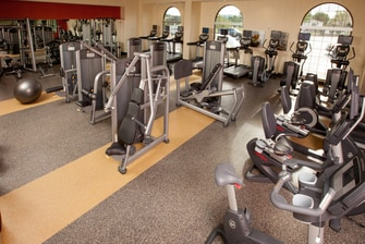 Minneapolis Marriott Northwest Fitness Center