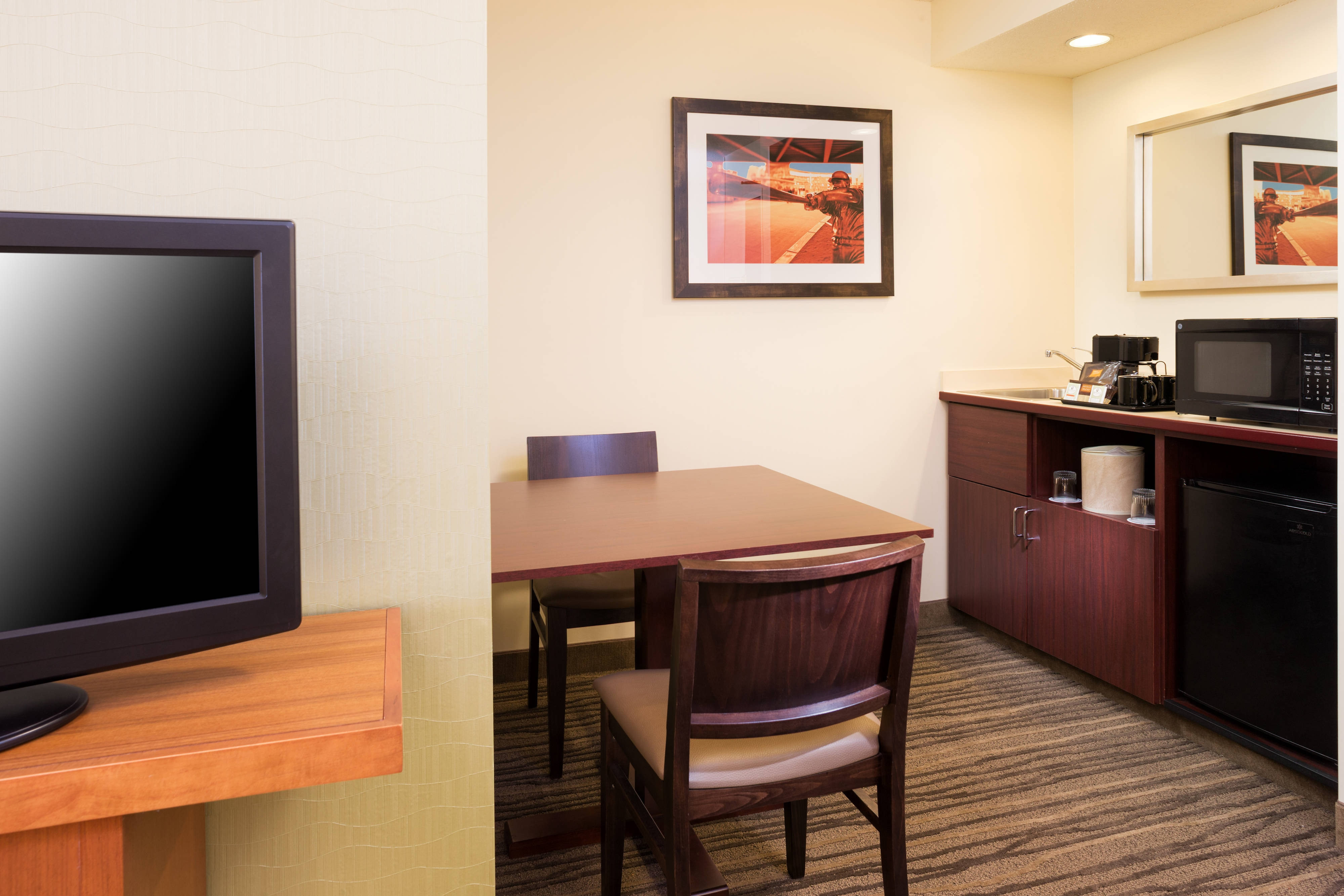 King Suite Amenities