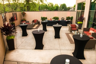 Reception - Outdoor Patio