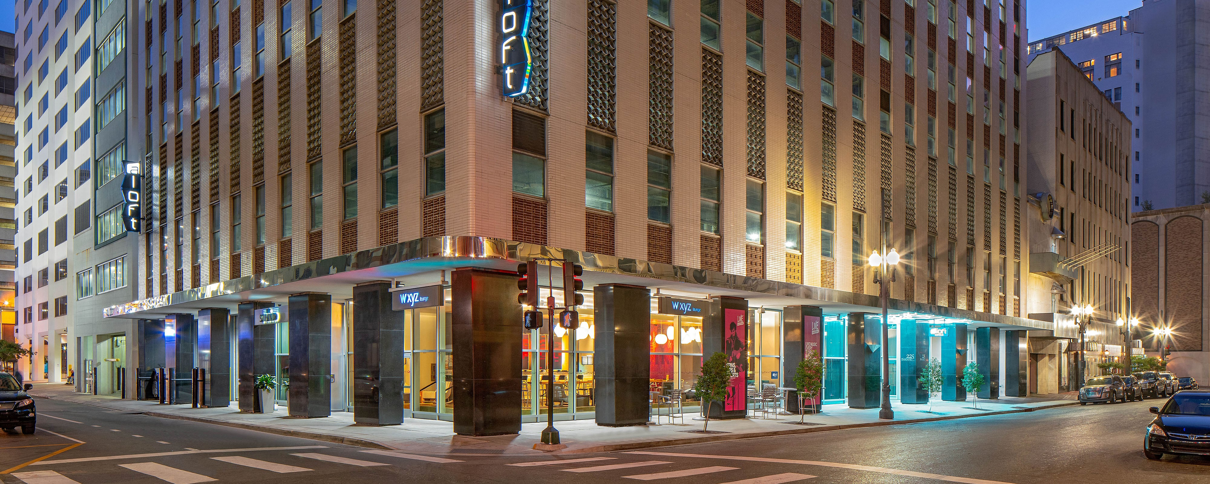 Hotels Near Bourbon Street Aloft New Orleans Downtown