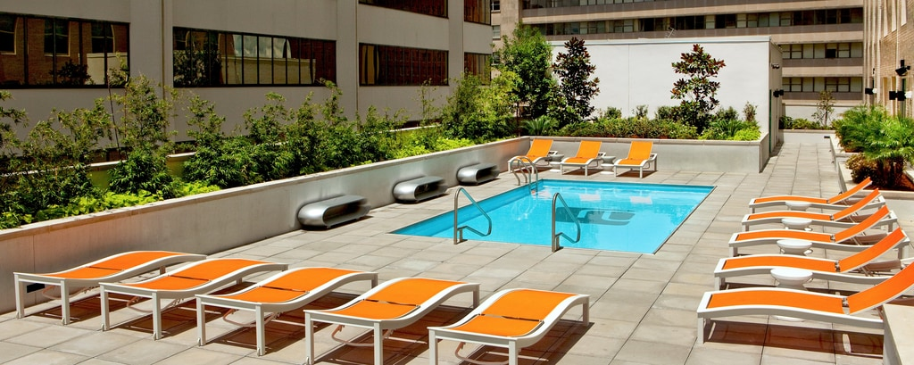 Outdoor 11th Floor Pool