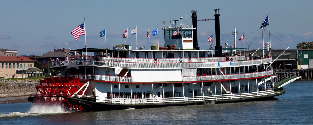 Paddlewheel Riverboat