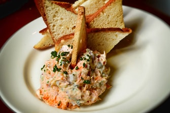 New Orleans Restaurants Salmon Dip