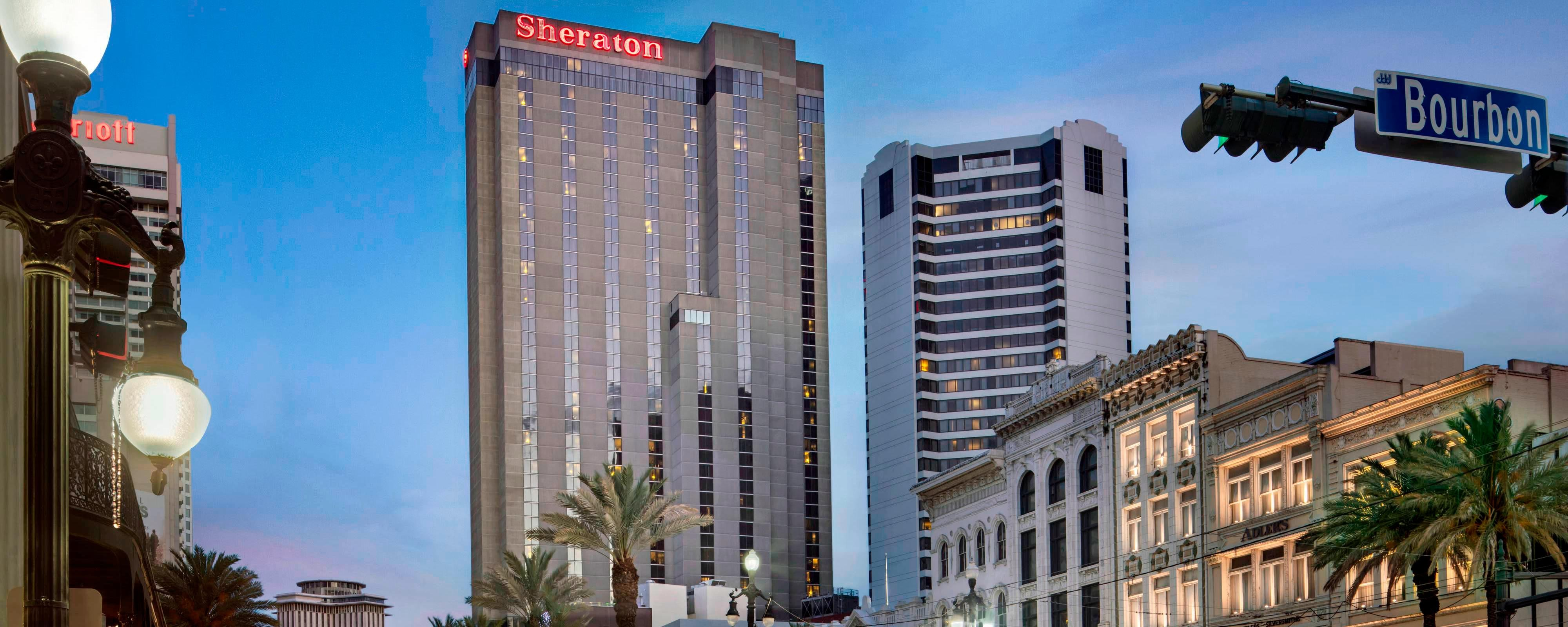 New Orleans Hotels >> New Orleans French Quarter Hotel Sheraton New Orleans Hotel
