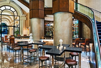 New Orleans Hotel Bar.