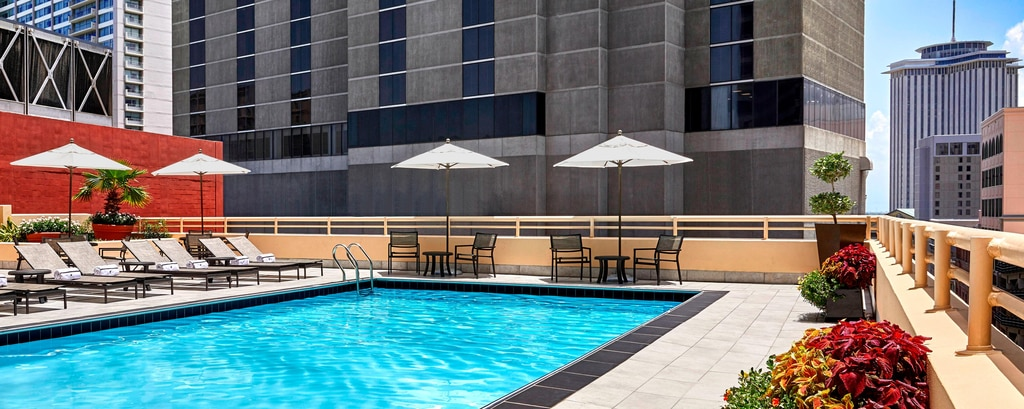 New Orleans Hotel With Saltwater Pool And Gym Jw Marriott New Orleans