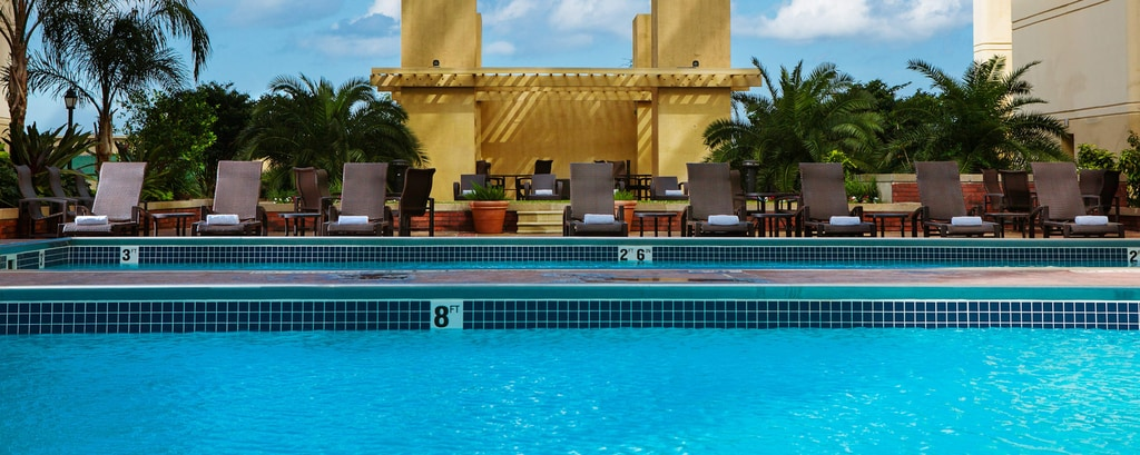 New Orleans Hotel Outdoor Pool