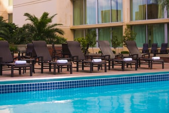 French Quarter Hotel Outdoor Pool