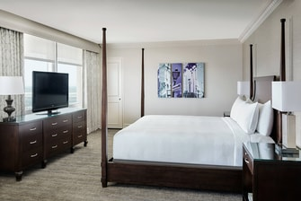 New Orleans Hotels Presidential Suite Bedroom